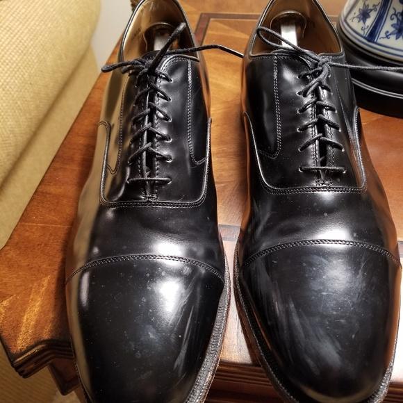 Mens Johnston Murphy Melton Shoes Black
